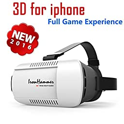Iron Hammer® VR - Virtual Reality Headset (2016 Newest Version)