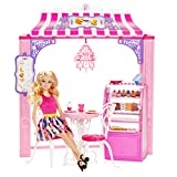 Barbie Shops With Doll Fashion Boutique, Multi Color