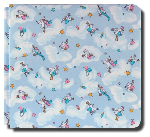 Collected Memories PB-Blue-Stork Fabric-Covered 