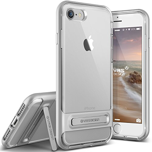 vrs-design-funda-iphone-7-crystal-bumperplata-transparente-caseshock-absorcion-coverkickstand-para-a