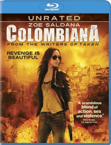 Blu-ray : Colombiana (Ultraviolet Digital Copy, , Widescreen, Dolby, Unrated Version)