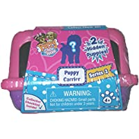 NEW 2016 Puppy In My Pocket Series 2 Mystery Puppy Carrier- PINK PURPLE Includes 2 Flocked Mystery Puppies In...