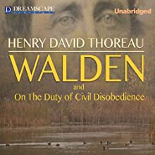 Walden and On the Duty of Civil Disobedience Audiobook by Henry David Thoreau Narrated by Robert Bethune