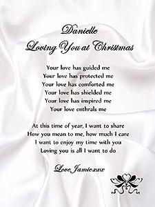 romantic christmas letter boyfriend