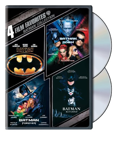 DVD : 4 Film Favorites: Batman Collection (, Dubbed, Dolby, AC-3, Widescreen)
