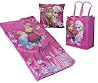 Disney Frozen Slumber Tote with Pillow Toy