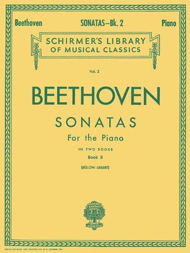 Sonatas - Book 2: Piano Solo (Schirmer's Library of Musical Classics, Vol. 2)