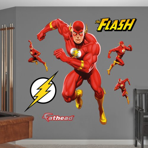 Fathead The Flash In Action Graphic Wall Décor