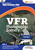 VFR Photographic Scenery - Volume 2 Central England and Mid Wales FS 2004 (PC DVD)