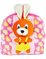 Tickles Pink Funny Rabbit Hand Bag For Kids Girl 30 Cm AT-B236