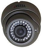 1000TVL AVEESA AV1K-VFG CCTV Grey Dome Varifocal Zoom Night Vision Security Camera