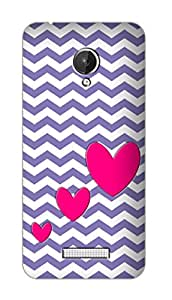 SWAG my CASE PRINTED BACK COVER FOR MICROMAX CANVAS SPARK Multicolor