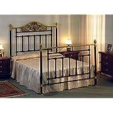 Betten und Kopfteile aus Messing und Eisen : Modell KARLSRUHE