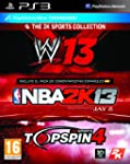 2K Sports Bundle: NBA 2K13 + Top Spin...