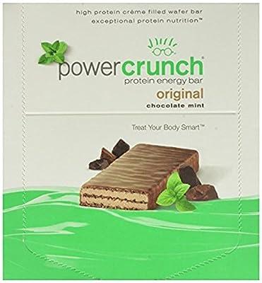 Power Crunch Protein Energy Bar Chocolate Mint 1.4-Ounce Bars 12 Count New