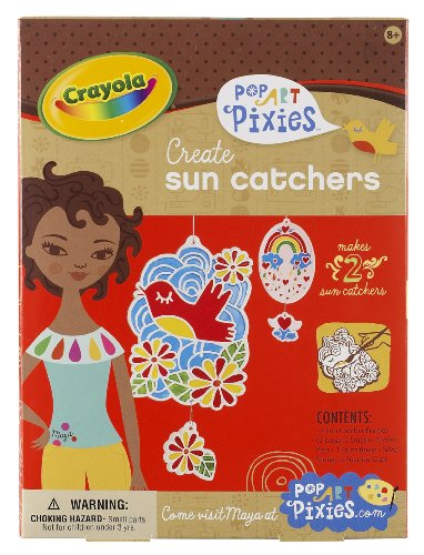 Crayola Pop Art Pixies Sun Catcher