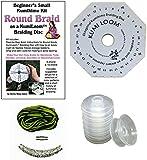 Kumihimo Starter Kit: KumiLoom(TM) Disk/Bobbins/Booklet/Necklace Kit