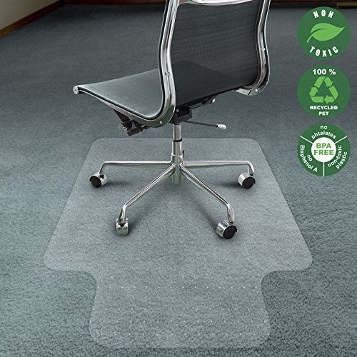 office-marshal-eco-series-chair-mat-with-lip-for-carpet-floors-translucent-36-x-48-100-recycled-pet-