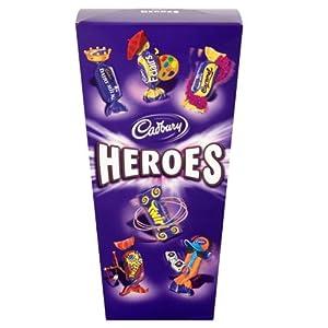 Cadburys Heroes Carton 350g with 20% Extra Free 420g
