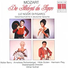 Wolfgang Amadeus Mozart: Nozze di Figaro (Le) (The Marriage of Figaro) [Opera] (Suitner)
