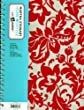Martha Stewart Home Office with Avery 100 Sheets Narrow Ruled 8 1/2 x 11 inch Geometric Notebook (Red Floral)