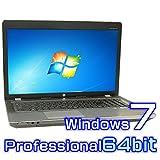 中古ノートパソコン hp ProBook 4730s 【Windows7 Pro 64bit・Core i5・8GB・新品SSD・17インチワイド液晶】