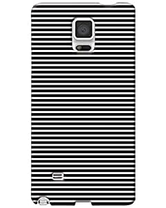Hugo Samsung Galaxy Note 4 Back Cover Hard Case Printed Designer Multicolour
