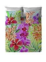 COSTURA Juego De Sábanas Orchids (Multicolor)