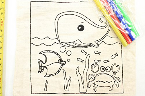 Crafter's Square Whale Color It Yourself w/ Markers - 1