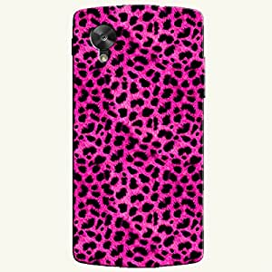 PINK PATTERN BACK COVER FOR GOOGLE NEXUS 5