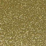 グリッターシート/シールタイプ(ゴールド 金)30cm×30cmラメで目立つ! コンサート ジャンボうちわ等の作成に!