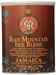 Reggie's Roast Jamaica Blue Mountain Irie Blend Whole Bean Coffee, 12-Ounce Cans (Pack of 3)