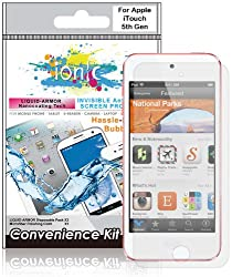 CrazyOnDigital Ionic Invisible Film Liquid-Armor Screen Protector for iPod touch 5G 2012 Model