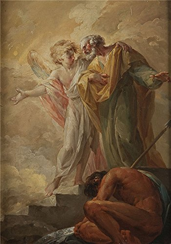 oil-painting-lopez-portana-vicente-la-liberacion-de-san-pedro-1791-92-16-x-23-inch-41-x-58-cm-on-hig