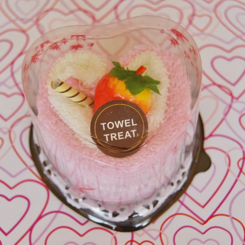 Towel Treats Strawberry Sweet Love Case Pack Of 6 front-1079133
