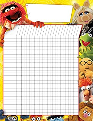 "Paper Magic Eureka Muppets Reward Grid 17"" x 22"" Posters and Charts"