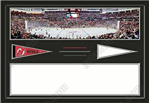 New Jersey Devils Prudential Center Stadium & Your Choice Of Stadium Panoramic... by Art and More, Davenport, IA