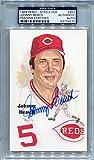 Johnny Bench Cincinnati Reds PSA/DNA Certified Authentic Autograph - Perez-Steele Postcard 10th Series #202 (Autographed Postcards)