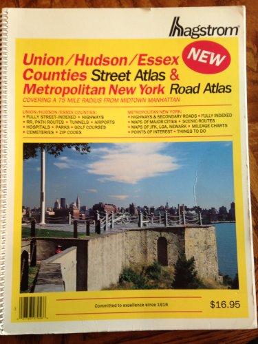 Union County, Hudson County, Essex County, Metropolitan New York City Atlas