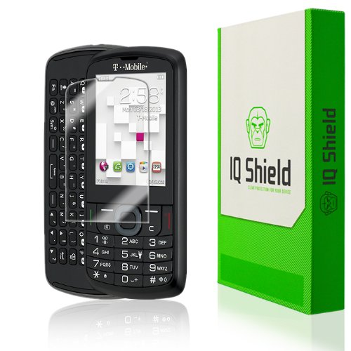 Iq Shield Liquidskin - Alcatel Sparq Ii Screen Protector - High Definition (Hd) Ultra Clear Phone Smart Film - Premium Protective Screen Guard - Extremely Smooth / Self-Healing / Bubble-Free Shield - Kit Comes With Retail Packaging And 100% Lifetime Repla front-593420