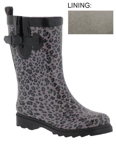Capelli New York Shiny Baby Leopard Printed Ladies Short Spo