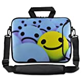 ChaoDa Smile Face 13″ 13.3″ inch Notebook Laptop Shoulder Case Carrying Bag for Apple Macbook pro 13/Macbook Air 13/Samsung/DELL XPS inspiron/HP/TOSHIBA 830/SONY SD4/ASUS B23/ACER/LENOVO Thinkpad X1/GATEWAY