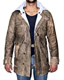 Real Leather Coat Jacket – Swedish Bomber Jacket for Mens by NYC Leather Factory Outlet