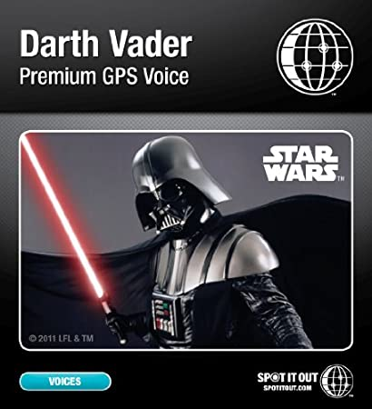 Darth Vader GPS Voice for Garmin (PC only) [Download]