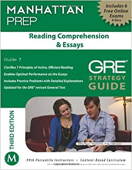 manhattan gre reading comprehension & essays Amazonin - buy gre reading comprehension & essays (manhattan prep gre  strategy guides) book online at best prices in india on amazonin read gre.