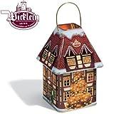 Wicklein Christmas Tree Lantern Tin with 3 Sorts of Lebkuchen