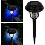 Diny Home & Style Solar Bug Zapper LED & UV Light Pathway Lighting Insect & Mosquito Control