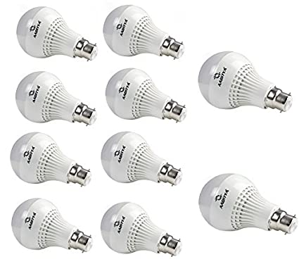 5W LED Bulb (Pack of 10)