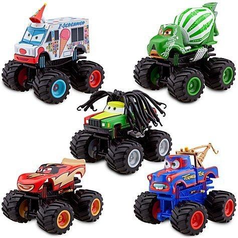 Monster Truck Mater - Confezione da 5 pezzi, serie Cars di Disney Pixar