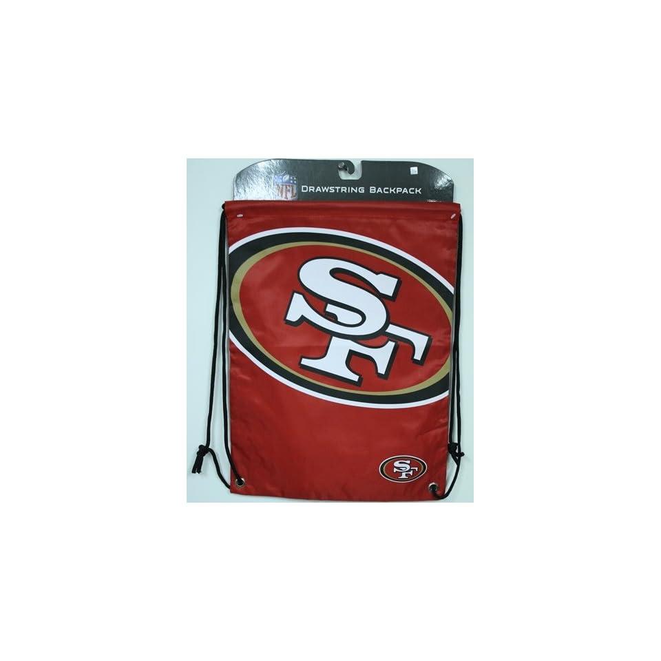 NFL San Francisco 49ers Drawstring Backpack